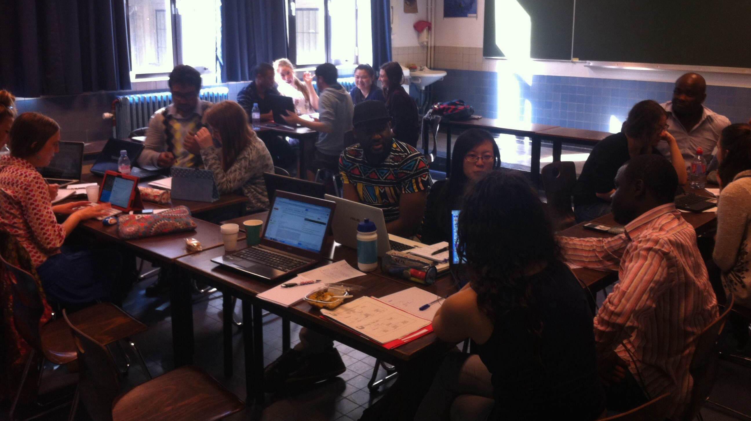 International Education Class - Group T